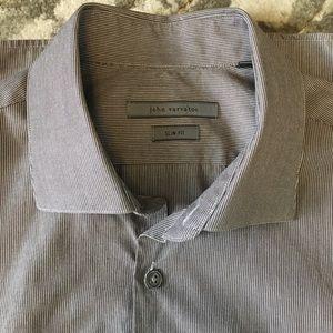 John Varvatos collection 15.5 slim dress shirt
